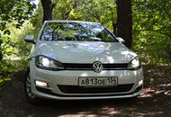 Тест Volkswagen Golf 7-го поколения в Волгограде